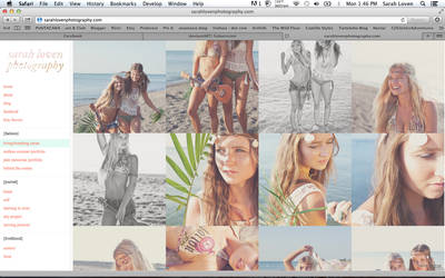 Sarah Loven Photography - New Website by Zaratops