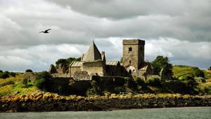 Inchcolm Abbey by JanKacar