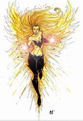 Future Phoenix by CrimsonArtz
