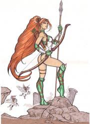 Artemis by CrimsonArtz
