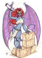 Demona by CrimsonArtz