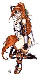 Artemis of Themyscira by CrimsonArtz