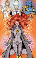 Phoenix - Headmistress X by CrimsonArtz
