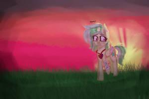 |Contest Entry| Sunset, already? by AsstriaHungryYT