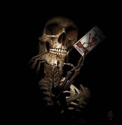 La carte de la mort by Ergosapien