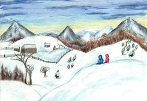 Violet Hill by German-Blood