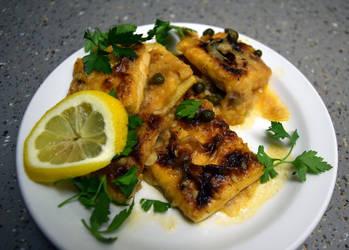 Tofu Piccata by German-Blood
