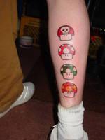Mario Tatts by strangefamous
