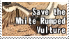 Save the White Rumped Vulture by ClockworkStamps