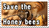 Save the Honey Bees by ClockworkStamps