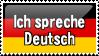 I Speak German by ClockworkStamps