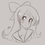Sketch Request: Angela by LunaeZomi