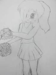 Cheerleader by WolfgirllovesPrince