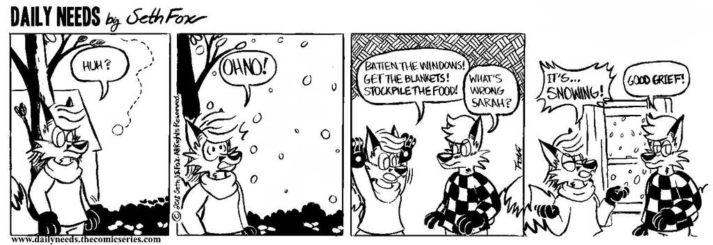 DN #119 - Let It Snow by Daily-Needs