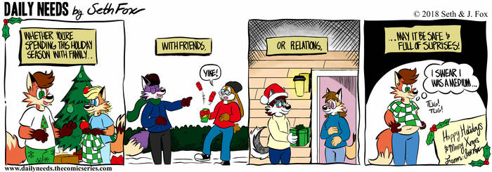 DN #124 - Christmas Wishes by Daily-Needs