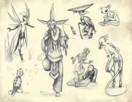 The book of Monsters XXVIII by JohannesVIII
