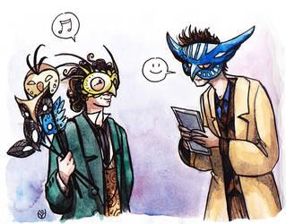 Owl masks by JohannesVIII