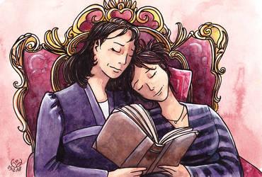 Liv and Helen by JohannesVIII