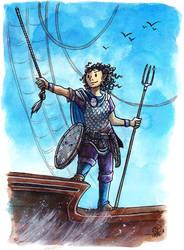 Sailing for adventure by JohannesVIII