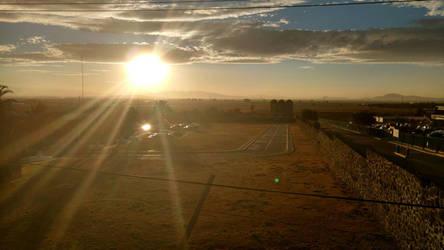 almost sunset by Akumeno