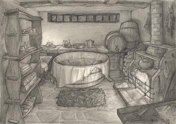 The Bathing Room by crossrhythm