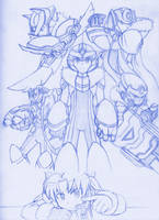 MegaMan OVER: Specialized Armors by MidniteW