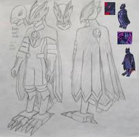 Raven.EXE (MMBN Chrono X) by MidniteW