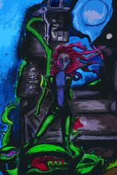Poison Ivy - Fan art2 by divinerogue1991