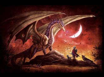 Dragon 2 by dcbats2000
