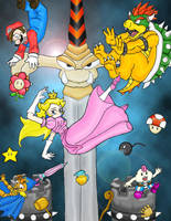 Super Mario RPG by Biskuits