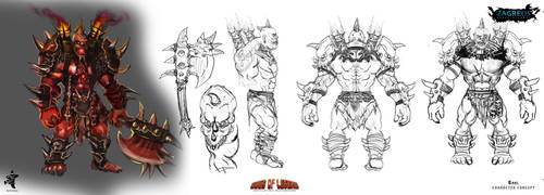 Baal-character-concept Ze by zagreusent