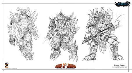 Heroes-demon-concept Ze by zagreusent