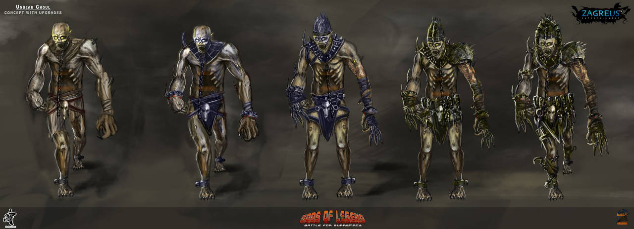 Undead-ghoul-concept-upgrades Ze by zagreusent