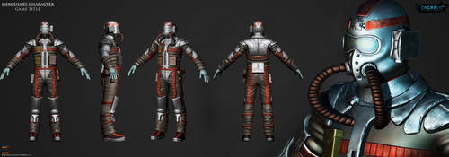 Mercenary-character-game-title Ze (2222 by zagreusent