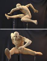 Men's hurdles 2 by MarkNewman