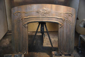 Fireplace front by MarkNewman