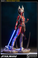 Shaak Ti light up Saber by MarkNewman