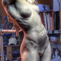 Artistic Nude detail. by MarkNewman