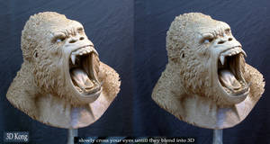 3D Kong by MarkNewman