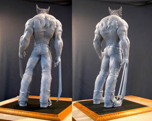 Wolverine maquette 3 by MarkNewman