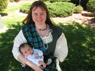 Mackay Wes and Mom 3 by Jaibyrd