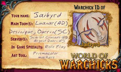 My Warchick ID by Jaibyrd