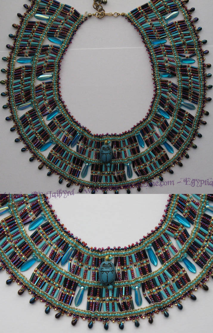 Egyptian Collar by Jaibyrd