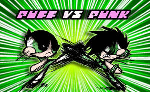 puff vs punk by Sukapon-ta