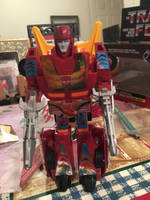 Tf G1 hot rod by pugwash1