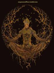 Groot Mandala by megmcmuffins
