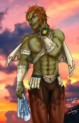 Skyward Sword Ganon by Ollinatl