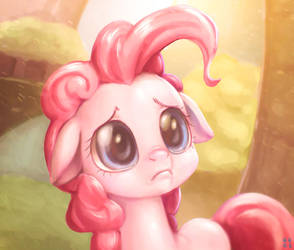 Sad Pinkie by mrs1989