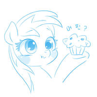 Doodle : Muffin? by mrs1989