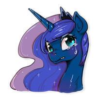 Sad Luna by mrs1989